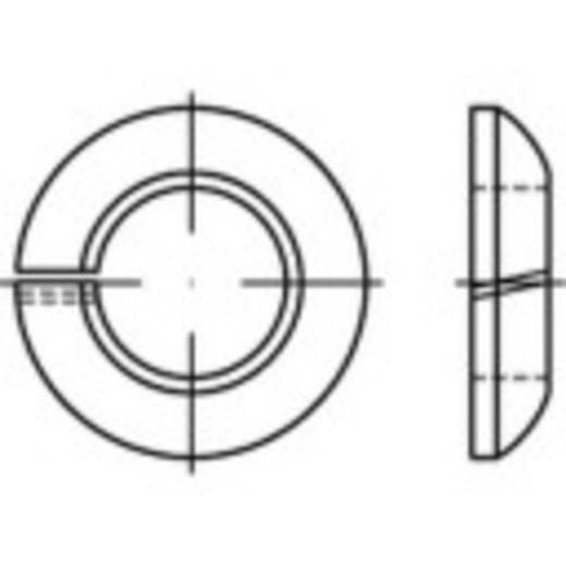 Federringe Innen-Durchmesser: 22.5 mm DIN 74361 Federstahl galvanisch verzinkt 100 St. TOOLCRAFT 147240