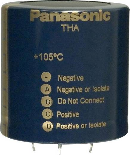 Elektrolyt-Kondensator SnapIn 25 mm 680 µF 450 V 20 % (Ø) 50 mm Panasonic ECE-P2WA681HA 1 St.