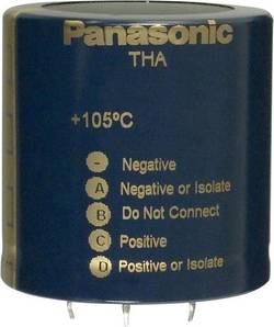 Elektrolytický kondenzátor Panasonic ECE-T2DA222EA, Snap In, 2200 µF, 200 V, 20 %, 1 ks