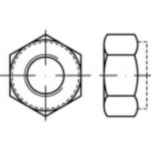 Sicherungsmuttern M10 ISO 7040 Stahl galvanisch verzinkt 500 St. TOOLCRAFT 147570