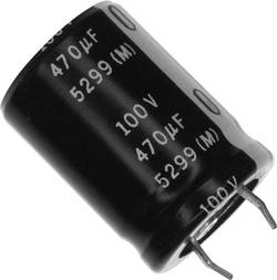 Elektrolytický kondenzátor Panasonic ECE-S2AG471E, 10 mm, 470 µF, 100 V, 20 %, 1 ks
