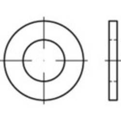 Podložka plochá TOOLCRAFT 147799 ISO7089 vonkajší Ø:10 mm Vnút.Ø:5.3 mm oceľ 200 ks