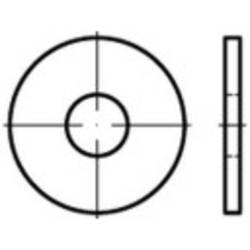 Podložka plochá TOOLCRAFT 147992 ISO 7093 vonkajší Ø:50 mm Vnút.Ø:17 mm oceľ,Zn.100 ks