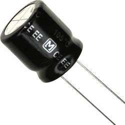 Elektrolytický kondenzátor Panasonic EEU-EE2G101, 7.5 mm, 100 µF, 400 V, 20 %, 1 ks