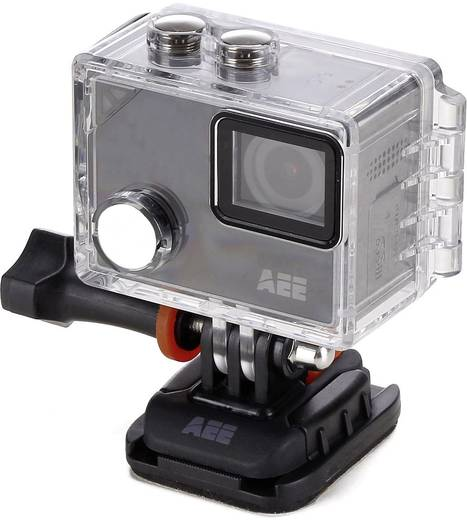 AEE Lyfe Silver Action Cam 4K, WLAN, Touch-Screen