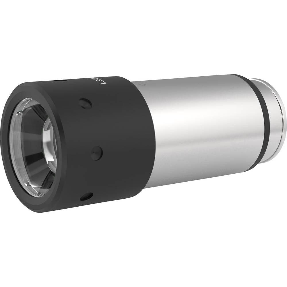 mini lampe de poche ledlenser automative stainless ampoule led batterie 80 lm 43 g. Black Bedroom Furniture Sets. Home Design Ideas