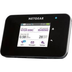 Cestovní 4G LTE Wi-Fi hotspot NETGEAR AirCard 810 pro 15 zařízení, 600 Mbit/s, černá