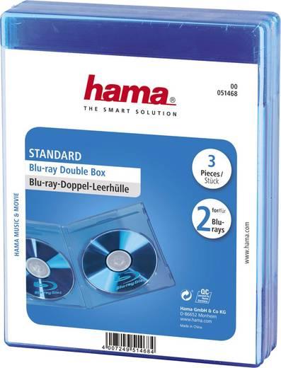 hama 2fach blu ray h lle 2 cds dvds blu rays polypropylen. Black Bedroom Furniture Sets. Home Design Ideas