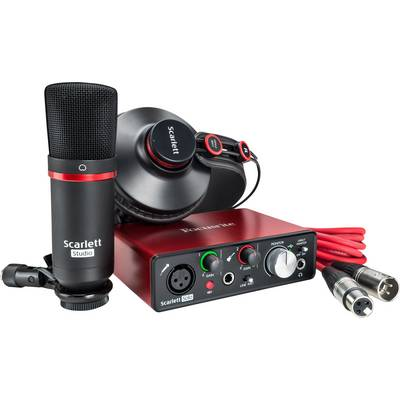 Audio Interface Focusrite SCARLETT SOLO STUDIO 2ND GEN inkl. Software, Monitor-Controlling Preisvergleich