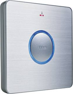 Bezdrôtový zvonček m-e modern-electronics BELL-230 RX-AS 41047, prijímač, max. dosah 200 m, strieborná