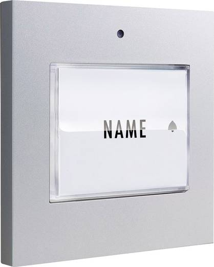 klingeltaster beleuchtet mit namensschild 1 familienhaus m e modern electronics 41048 silber 8. Black Bedroom Furniture Sets. Home Design Ideas