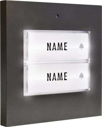 M E Modern Electronics 41051 Klingeltaster Beleuchtet Mit