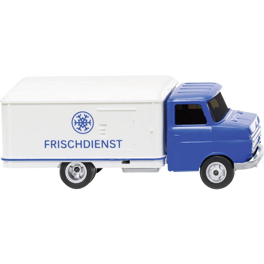 mod le r duit de camion opel wiking 0354 01 voiture frigo blitz frischdienst ho. Black Bedroom Furniture Sets. Home Design Ideas