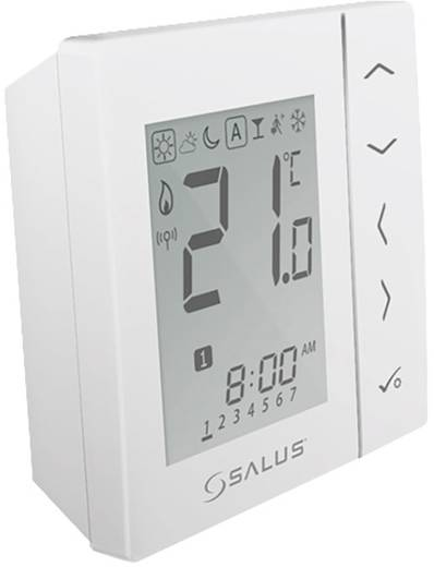 Salus Controls iT600 Funk-Wandthermostat VS20WRF batteriebetrieben Weiß