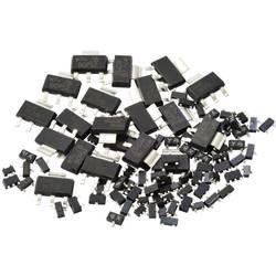 Sada tranzistorov Kemo SMD Transistoren ca. 100 Stück [S108]