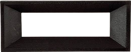 Frontrahmen Schwarz Passend für: LC-Display 6-stellig Kunststoff Strapubox AR 6 A