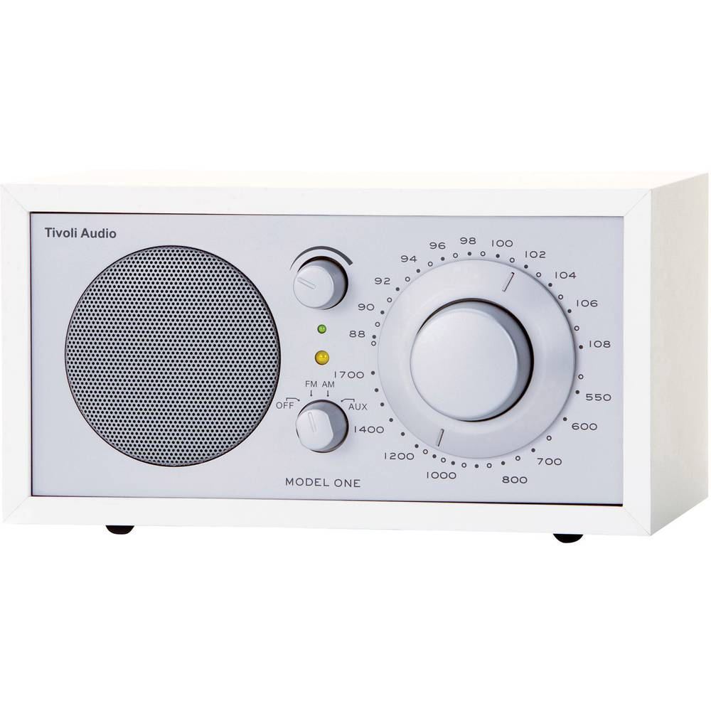 fm table top radio tivoli audio model one aux am fm from. Black Bedroom Furniture Sets. Home Design Ideas