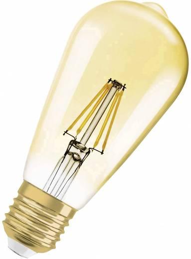 OSRAM LED EEK A+ (A++ - E) E27 Kolbenform 6.5 W = 51 W Gold (Ø x L) 64 mm x 143 mm dimmbar, Filament 1 St.