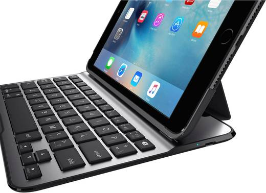 tablet tastatur mit bookcover belkin ultimate lite passend. Black Bedroom Furniture Sets. Home Design Ideas