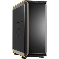 PC skrinka, herné puzdro midi tower BeQuiet Dark Base 900 Orange, čierna, oranžová