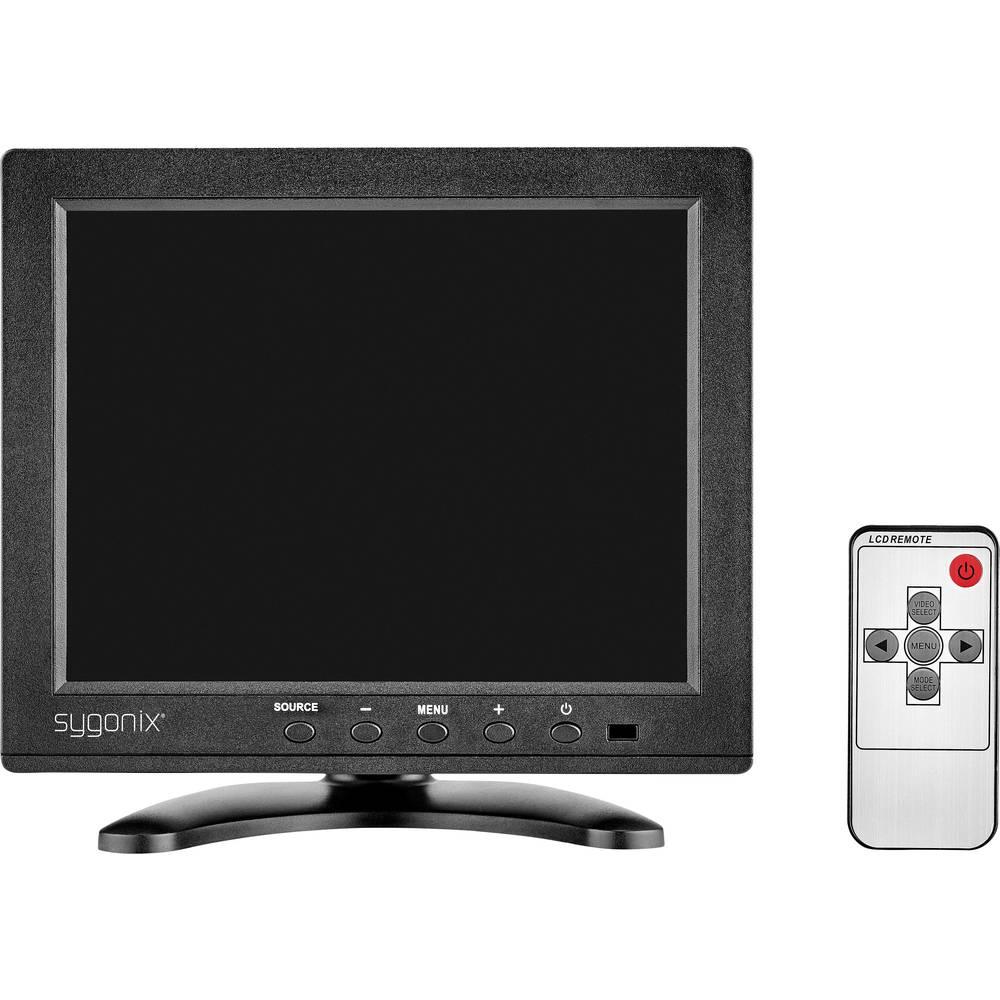 ecran de surveillance lcd 20 3 cm 8 pouces sygonix 16885x1 1024 x 768 pix sur le site internet. Black Bedroom Furniture Sets. Home Design Ideas