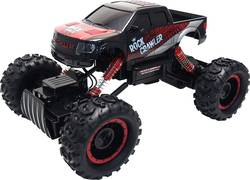 RC model auta Amewi Rock-Crawler 22198 RtR, 1:14, elektrický, 4WD (4x4) - Amewi Rock Crawler Pick-Up červeno-černá RC auto 1:14 dálkové ovládání 2.4GHz