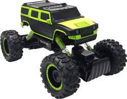 RC model auta Amewi Mad Cross 22200 RtR, elektrický Rock Crawler 1:14, 4WD (4x4) - Amewi Rock Crawler Mad Cross černo-zelená RC auto 1:14 dálkové ovládání 2.4GHz