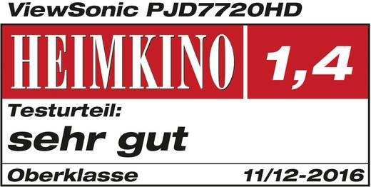 Viewsonic Beamer PJD7720HD DLP Helligkeit: 3200 lm 1920 x 1080 HDTV 22000 : 1 Schwarz