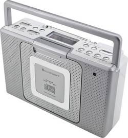 FM CD rádio SoundMaster BCD480, AUX, CD, FM, stříbrná
