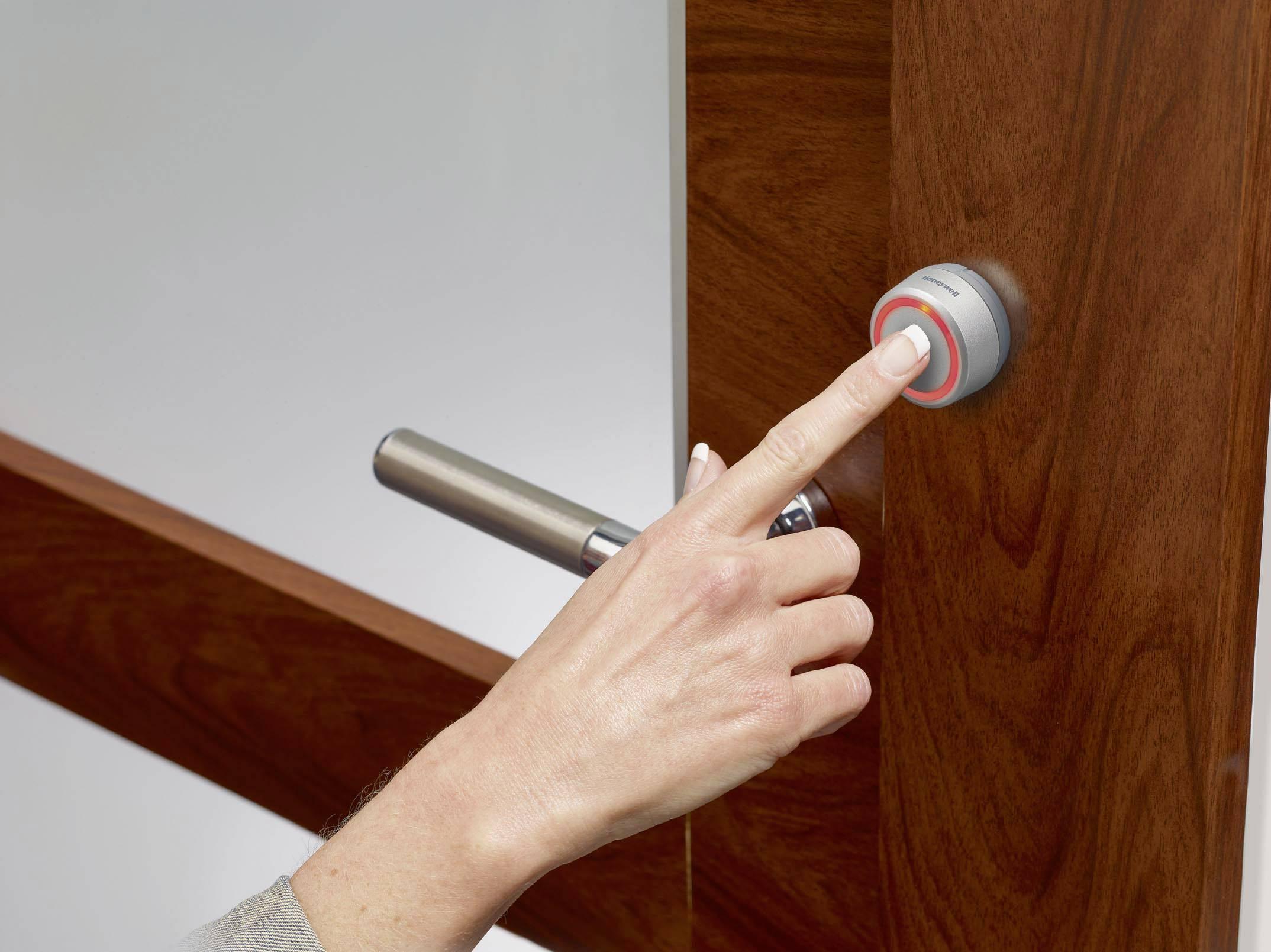 Klingelanlage Verdrahtetes Türklingel Komplett Set mit Klingeltaster /& Türgong