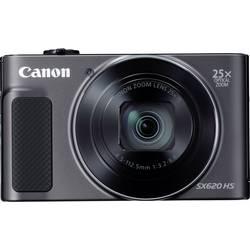 Digitálny fotoaparát Canon PowerShot SX620HS, 20 Megapixel, Zoom (optický): 25 x, čierna