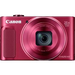 Digitálny fotoaparát Canon PowerShot SX620HS, 20 Megapixel, Zoom (optický): 25 x, červená