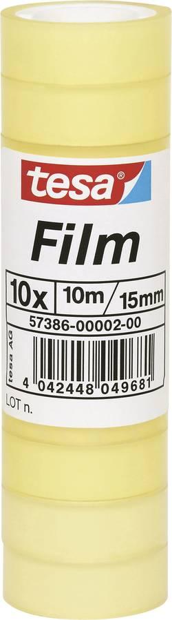 tesafilm tesa 57386-02-03 transparent (L x l) 10 m x 15 mm 10 rouleau(x)