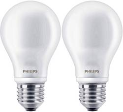 Ampoule LED E27 Philips Lighting 8718696422328 forme standard 4.5 W=40 W blanc chaud (Ø x L) 61 mm x 110 mm EEC: class