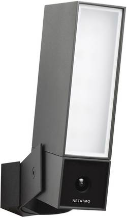 Venkovní bezpečnostní kamera s reflektorem a detektorem pohybu Netatmo Presence NOC01-DE, Wi-Fi, vodotěsná