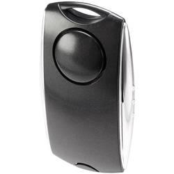 Vreckový alarm Basetech 90 dB, čierna