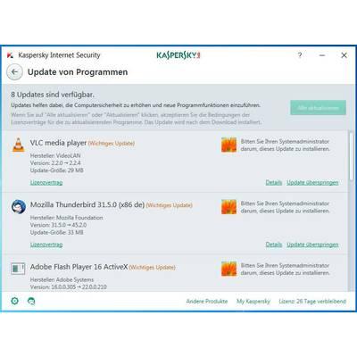 Kaspersky Lab Internet Security 2017 Upgrade, 1 license