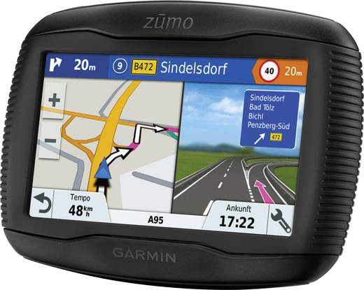 garmin zumo 345lm motorrad navi 10 9 cm 4 3 zoll. Black Bedroom Furniture Sets. Home Design Ideas