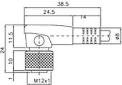 Image of Anschlusskabel DataLogic CS-A2-02-G-05 Ausführung (allgemein) Anschlusskabel