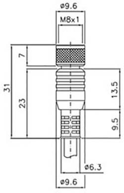 Image of Anschlusskabel DataLogic CS-B1-01-G-05 Ausführung (allgemein) Anschlusskabel