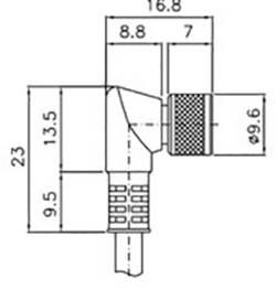 Image of Anschlusskabel DataLogic CS-B2-01-G-05 Ausführung (allgemein) Anschlusskabel
