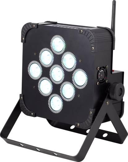 LED-PAR-Scheinwerfer Renkforce Anzahl LEDs: 9 x 8 W Schwarz