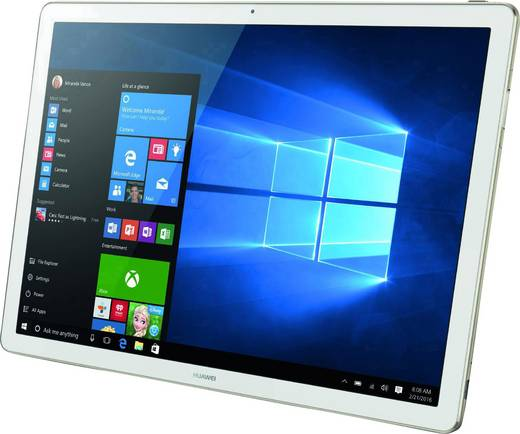 huawei matebook elite windows tablet 2 in 1 30 5 cm 12 zoll 128 gb wi fi gold intel core. Black Bedroom Furniture Sets. Home Design Ideas