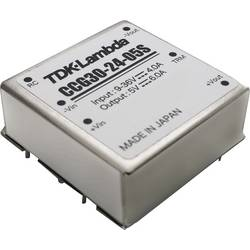 DC / DC menič napätia, DPS TDK-Lambda CCG-30-24-05S, 5 V, 6 A, 30.0 W