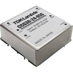 DC / DC menič napätia, DPS TDK-Lambda CCG-30-24-12S, 12 V, 2.5 A, 30.0 W