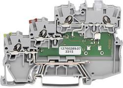 Borne pour actionneurs WAGO 2000-5317/1101-951 7 mm ressort de traction gris 50 pc(s)