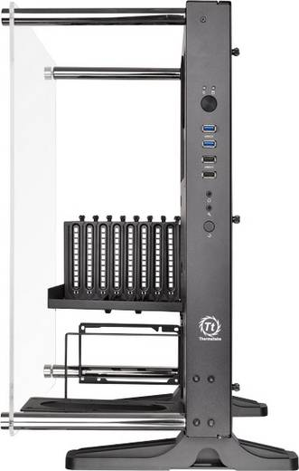 midi tower pc geh use thermaltake core p3 schwarz wandmontage lcs kompatibel kaufen. Black Bedroom Furniture Sets. Home Design Ideas