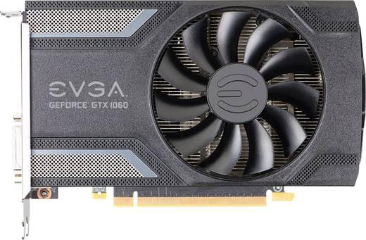 EVGA Grafikkarte Nvidia GeForce GTX1060 Superclocked 6 GB GDDR5-RAM PCIe x16 HDMI™, DisplayPort, DVI