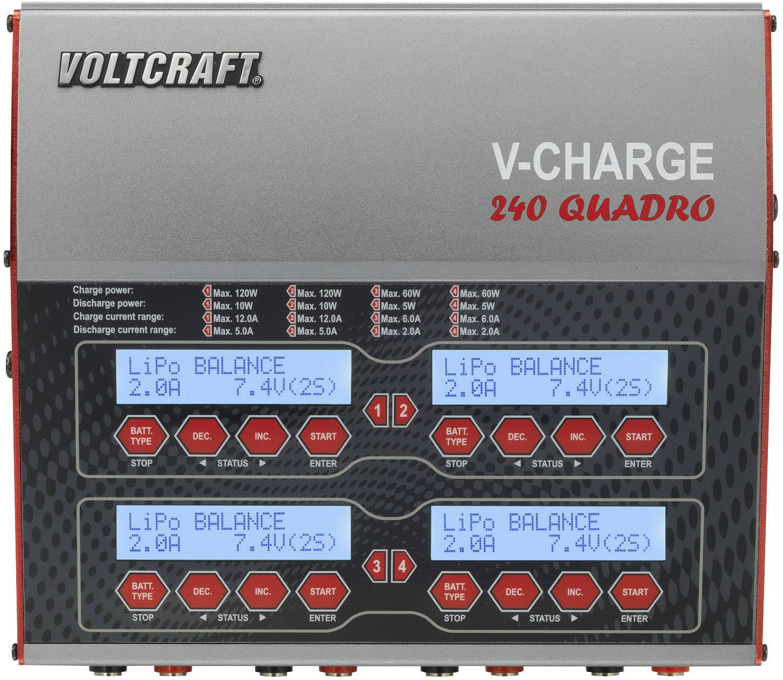 12 V 10 A Blei Basetech Modellbau-Multifunktionsladegerät 100 V 240 V NiMH,