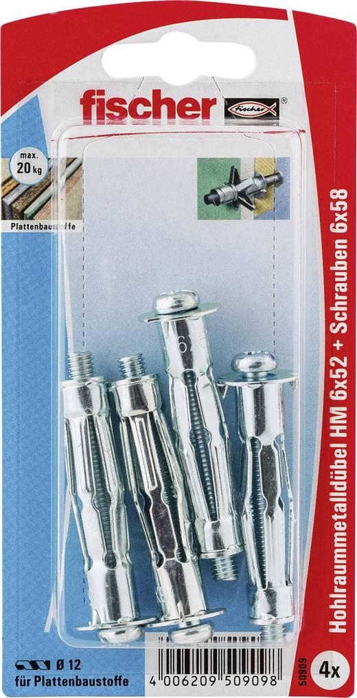 Fischer Hm 6 X 52 S K Hohlraumdubel 52 Mm 50909 1 Set Kaufen